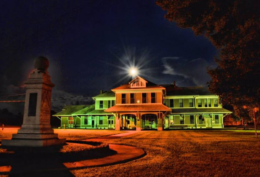 Depot at Night
