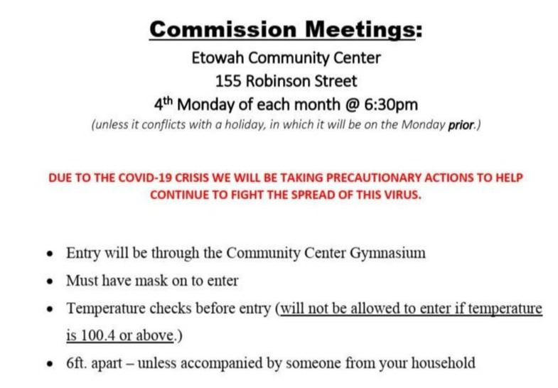 Commission Meetings