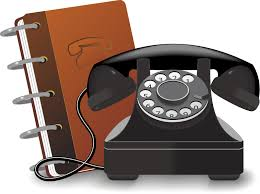 Telephone list image